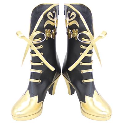 【ツイステ ブーツ】ディズニー ツイステッドワンダーランド  ヴィル・シェーンハイト   合皮  ゴム底  コスプレ靴