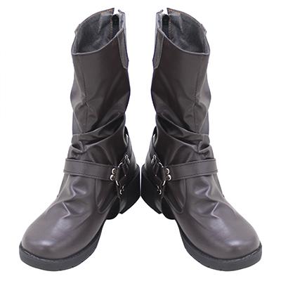 【ツイステ ブーツ】ディズニー ツイステッドワンダーランド  ジャック・ハウル   合皮  ゴム底  コスプレ靴
