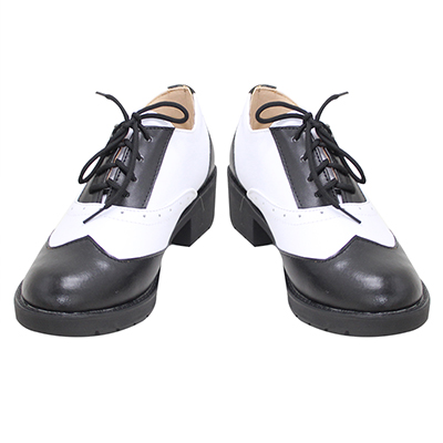【ツイステ ブーツ】ディズニー ツイステッドワンダーランド  フロイド・リーチ   合皮  ゴム底  コスプレ靴