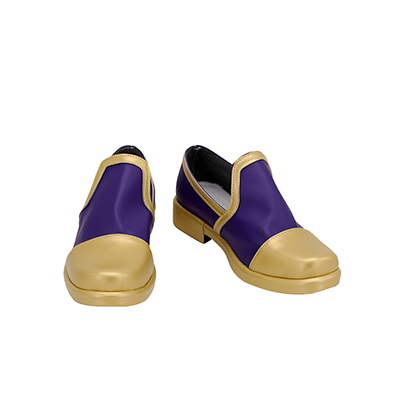 【ツイステ ブーツ】ディズニー ツイステッドワンダーランド   式典服  合皮 ゴム底 コスプレ靴  コスプレブーツ