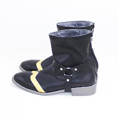 【ツイステ ブーツ】ディズニー ツイステッドワンダーランド   レオナ・キングスカラー  合皮 ゴム底 コスプレ靴