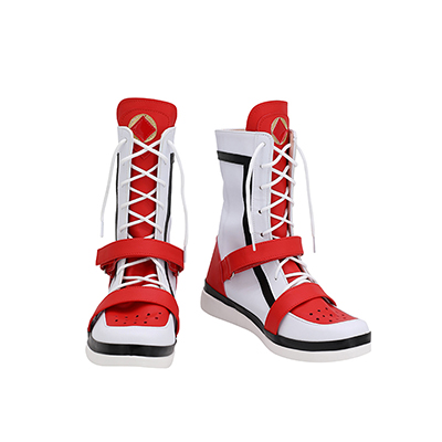 【ツイステ ブーツ】ディズニー ツイステッドワンダーランド   ケイト・ダイヤモンド  合皮 ゴム底 コスプレ靴