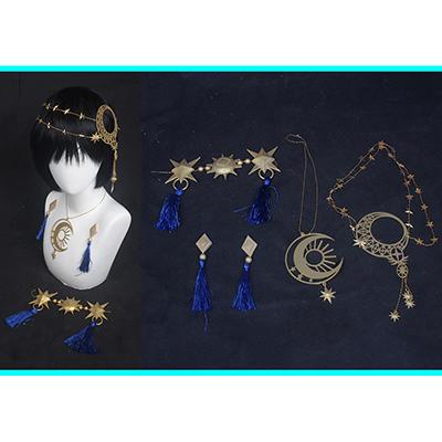 【ツイステ 道具】ディズニー ツイステッドワンダーランド   星に願いを 星送りの衣  デュース  飾り物  コスプレ道具