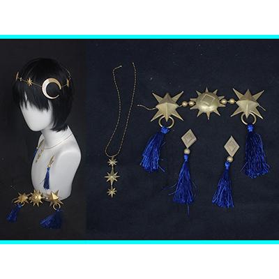 【ツイステ 道具】ディズニー ツイステッドワンダーランド   星に願いを 星送りの衣  トレイ  飾り物  コスプレ道具