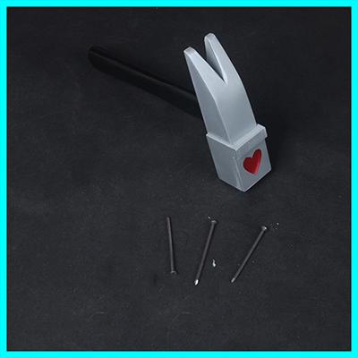 【呪術廻戦 道具】釘崎野薔薇(くぎさき のばら)  ハンマー  釘  コスプレ道具