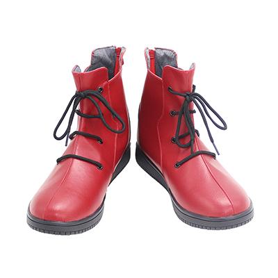 【呪術廻戦 ブーツ 】 虎杖悠仁  合皮 ゴム底 コスプレ靴