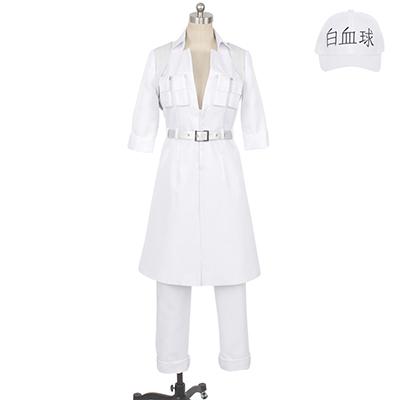 【はたらく細胞ブラック 衣装】白血球/好中球 1196 コスプレ衣装
