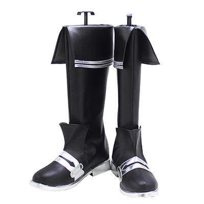 【刀剣乱舞 ブーツ】水心子正秀(すいしんしまさひで)  風 合皮 ゴム底 コスプレ靴