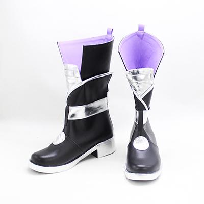 【刀剣乱舞 ブーツ】源清麿(みなもときよまろ) 風 合皮 ゴム底 コスプレ靴