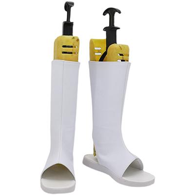 【炎炎ノ消防隊 ブーツ 】ハウメア 風  合皮 ゴム底 コスプレ靴