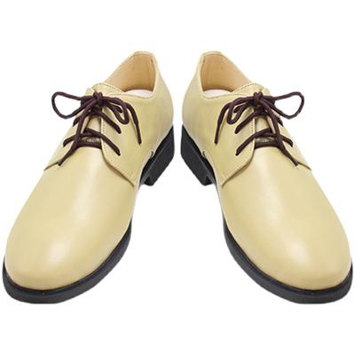 【ヒプノシスマイク ブーツ 】どついたれ本舗   天谷奴零(あまやど れい)風 合皮  ゴム底  コスプレ靴