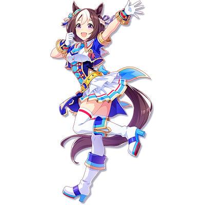 ◆5点限定・予約商品◆ ウマ娘 プリティーダービー スペシャルウィーク風  3rdライブ衣装  Glorious Azure  コスプレ衣装