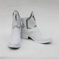 ソードアート·オンライン アスナ/ 結城明日奈(ゆうき あすな) ホワイト ショート   フラットヒール  風 コスプレ靴