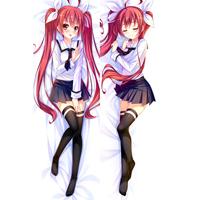 デート·ア·ライブ 五河 琴里(いつか ことり) 等身大抱き枕カバー、オリジナル抱き枕カバー、アニメ抱き枕