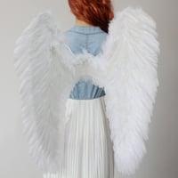天使の翼    白色/黒色     コスプレ道具