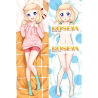 NEW GAME!(ニューゲーム)  桜ねね(さくら ねね) 等身大抱き枕カバー、オリジナル抱き枕カバー、アニメ抱き枕 ver.2