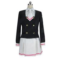 【カードキャプターさくら】  CLEAR CARD篇:木之本桜 (きのもと さくら)コスプレ衣装