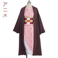 【鬼滅の刃 衣装】竈門禰豆子(かまど ねずこ) コスプレ衣装