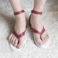 【鬼滅の刃 ブーツ 】竈門炭治郎(かまど たんじろう) 合皮 ゴム底 コスプレ靴