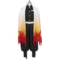【鬼滅の刃 衣装】炎柱・煉獄杏寿郎 (れんごくきょうじゅろう) 風 コスプレ衣装