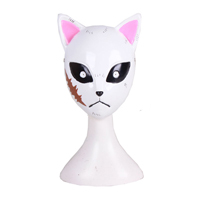 【鬼滅の刃 道具】錆兎(さびと) マスク コスプレ道具