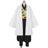 【鬼滅の刃 衣装】錆兎(さびと) 風 コスプレ衣装