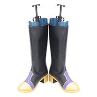 【ツイステ ブーツ】ディズニー ツイステッドワンダーランド 式典服  全員   合皮  ゴム底  コスプレ靴
