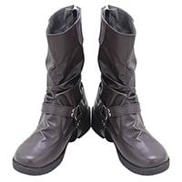 【ツイステ ブーツ】ディズニー ツイステッドワンダーランド  ラギー・ブッチ   合皮  ゴム底  コスプレ靴