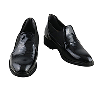 【ツイステ ブーツ】ディズニー ツイステッドワンダーランド フロイド・リーチ  制服風  合皮 ゴム底 コスプレ靴