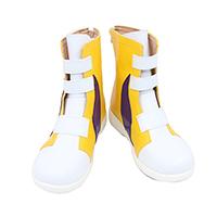 【SK ブーツ】エスケーエイト MIYA(ミヤ) 知念実也 (ちねん みや)風 低ヒール 合皮 ゴム底 コスプレ靴